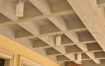 Terrazzo con solaio collaborante legno/c.a.