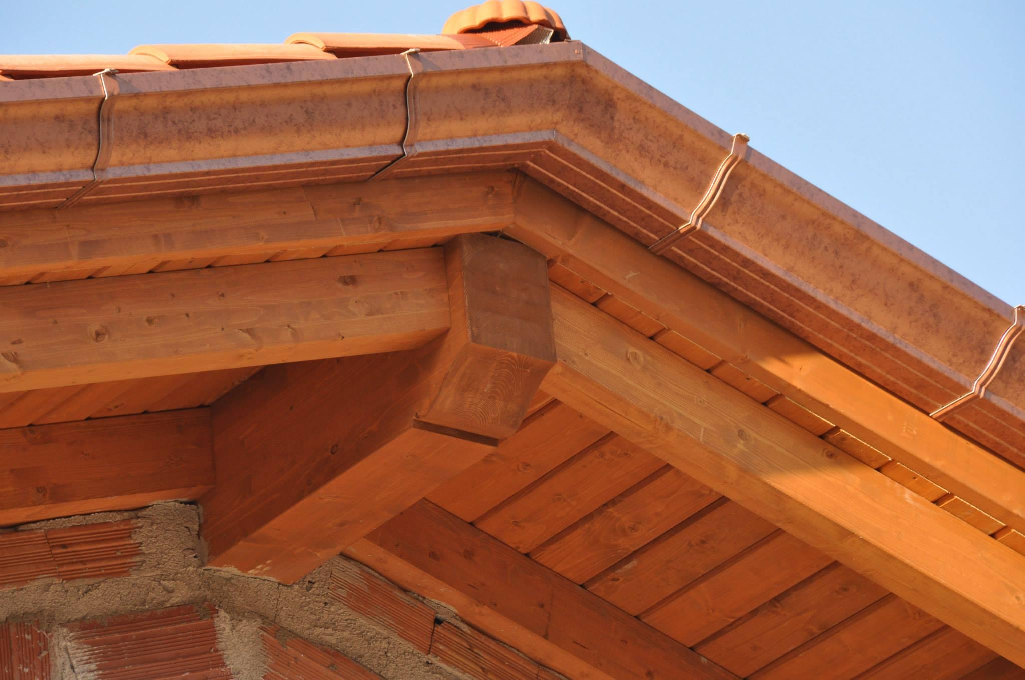 Costruire Tetto In Cemento tetto a vista agriturismo